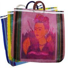 #940 Dozen Lot Tote Shopping Bag Frida Kahlo Reusable Grocery Market Mexico Pack
