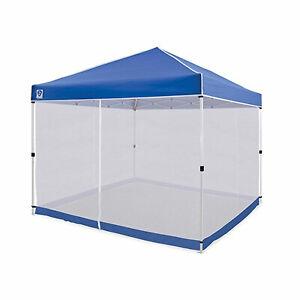 Z-Shade Everest 10 Ft Straight Leg Screen Room Shelter, White (Attachment Only)