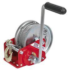 Sealey Gwc2000b Engranada carrete manual freno & cable 900kg capacidad