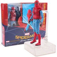 SHFiguarts Spider-Man Homecoming Home Made Suit Version Action Figure Model Toy