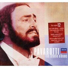 Pavarotti - The Studio Albums 12CD Box Set Decca 2007 NEW/SEALED