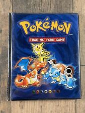 Pokemon Trading Card Game Collector's Album Card Binder Booklet Nintendo 1999