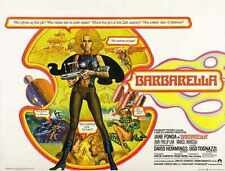 Barbarella Poster 09 A2 Box Canvas Print