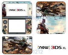 Boba Fett Vinyl Decals Skin Stickers for Nintendo New 3DS XL 2015 Star Wars