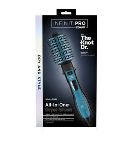 Conair Infiniti Pro All-In-One Oval Dryer Brush With Knot Doctor