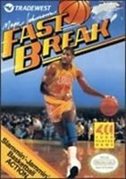 Magic Johnson's Fast Break - Nintendo NES Game Authentic