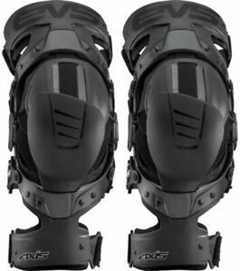 EVS Axis Sport Knee Brace Md AXISS-BK-MP Medium Pair 72-7576 663-1183