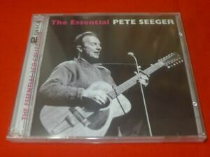 The Essential Pete Seeger [Sony] by Pete Seeger (2CD, Jul-2010, Sony Music)