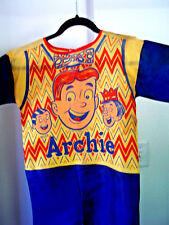 Scarce vintage fabric orig. Archie Jug Reggie comic Halloween costume,  1969!