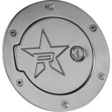 For Chevy Silverado GMC Sierra RBP RX-2 Polished Aluminum Lock Fuel Door