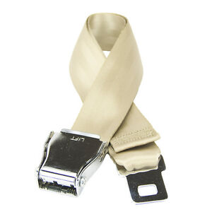 FlyBuckle Fashion Belt - Made with Airplane Seat Belt Buckle and Strap
