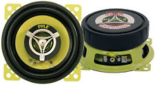 "PYLE GEAR 4"" 10cm 100mm 280w Coassiale Due vie Coppia Auto Altoparlanti Porta Scaffale Dash"