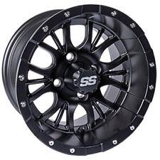 (1) Golf Cart Diesel 14 inch Matte Black Wheel With 3:4 Offset