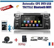 autoradio bmw e46 serie 3 320 320 325 330 M3 GPS Wifi.BLUETOOTH + camera recul