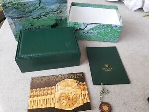 Genuine Rolex Box, Wallet, Tag & Book Submariner, Datejust, GMT Master 68.00.71