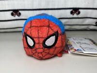 "Disney Tsum Tsum Marvel Spider-Man Avengers 3.5"" Mini Plush Spiderman"