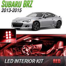 2013-2015 Subaru BRZ Red LED Lights Interior Kit