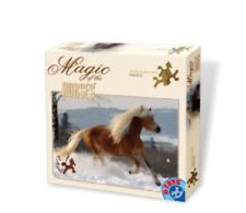d-toys magie de Le CHEVAUX Puzzle 239 pièces haflingers 2 dt65933-hh-02