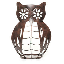 Yankee Candle Metal Owl Jar Candle Holder Online and Catalog Exclusive Brown