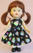 """Handmade Dress Fits 5 1/2"""" Mini Ginny"""