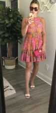 Tracy Feith Target Womens S 7 Impressionist Dress Floral Rare