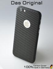 Carbon Cover mit Logo Window Apple iPhone 8 - Das Original Case - extrem leicht