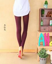 ~ 2 pcs Dark Red Colour 80D Women Pantyhose Hosiery Tights Pantyhose NEW