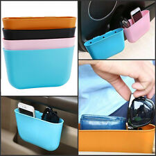 Mini Auto Car Hanging Garbage Trash Case Holder Storage Box Bin Rubbish Can New