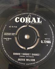 Jackie Wilson Shake! Shake! Shake! Original 1963 Coral Great copy !!