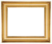 "20 x 24 Plein air  Picture Frame HandBurnished Black /& Gold  /""Super Quality/"""