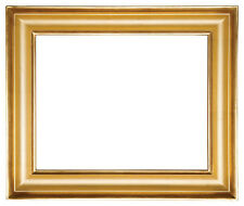 12 x 16   Picture Frame Hand Applied Gold Leaf Gallery Style Frame