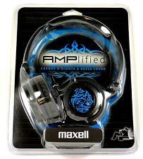 190265 - AMPB MAXELL Amplified Heavy Bass Headphones/Earphones (Blue)