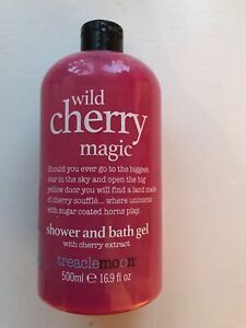 Treacle Moon 'Wild Cherry Magic' Exclusive Edition Shower & Bath Gel Brand New