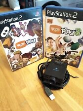 VIDEOGIOCO EYE TOY PLAY, PLAY 2 PS2 PLAYSTATION 2  + eye toy telecamera