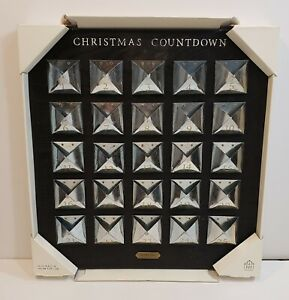 Hearth & Hand With Magnolia Christmas Advent Calendar Wood and Galvanized Metal