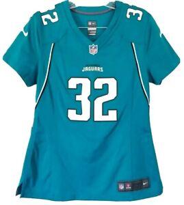 Jacksonville Jaguars Nike On Field Jersey Blouse #32 Jones-Drew Teal ~ Medium