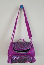 """Smiggle DELUXE """"DREAMY"""" Double Up Girl's Lunch Box DREAMER, PURPLE $39.95 NEW"""