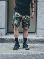 Loose Street Style Five Pants For Men - Khaki (CHG070904)