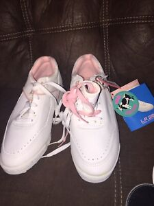 LA gear 80s sneaker hot shots low tennis shoe women size 10 Tags Key Chain