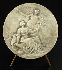 Médaille Ch des métiers Loire inférieure Allégorie du travail sc Télier medal