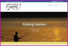 FISHING ANGLING Website $775.20 A SALE FREE Domain FREE Hosting FREE Traffic