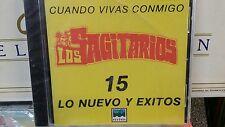 Los Sagitarios 15 Lo nuevo y exitos CD New sealed