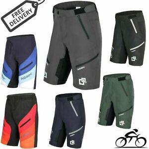 MTB Mens Shorts Downhill Off Road Bike Cycling Training Mountains Casual Biking