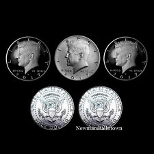 2017 P+D+S+S+S Kennedy Silver, Clad, Enhanced Mint Proof Set and PD Mint Rolls