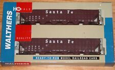 WALTHERS 932-25689 GREENVILLE 7,000 CU FT WOOD CHIP HOPPER 2-PK SANTA FE ATSF