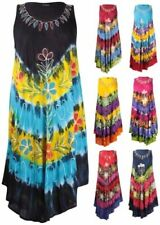Casual Sleeveless Dresses for Women with Embroidered