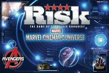 Marvel Cinematic Universe Risk Board Game Avengers Guardians of Galaxy Complete