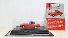 1/64 Kyosho TOYOTA SPORTS 800 RED diecast car model