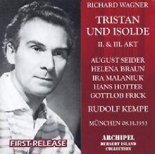 Tristan & Isolde ACT 2 & 3 Kempe Munich 1953 Richard Wagner Audio CD