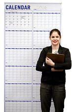 "Annual Wall Calendar LARGE – VERTICAL Dry Erase Event Calendar – 36""x72"""